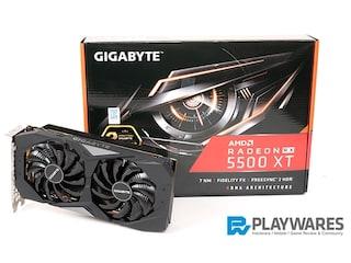 GIGABYTE RADEON RX 5500 XT UDV OC D6 8GB 리뷰