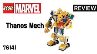 레고 슈퍼히어로즈 76141 타노스 맥 로봇(Superheroes MARVEL Thanos Mech)  리뷰_Review_레고매니아_LEGO Mania