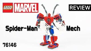 레고 슈퍼히어로즈 76146 스파이더맨 맥 로봇(Superheroes MARVEL SpiderMan Mech)  리뷰_Review_레고매니아_LEGO Mania