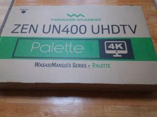 ZEN UN400 UHDTV Palette LED TV