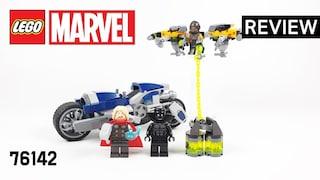 레고 슈퍼히어로즈 76142 어벤져스 스피더 바이크 공격(Avengers Speeder Bike Attack)  리뷰_Review_레고매니아_LEGO Mania