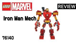 레고 슈퍼히어로즈 76140 아이언맨 맥 로봇(Superheroes MARVEL Iron Man Mech)  리뷰_Review_레고매니아_LEGO Mania
