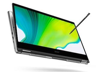 에이서, 360도 회전 가능한 컨버터블 노트북 선봬
