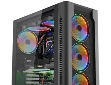마이크로닉스, 6개의 140mm 팬 갖춘 하이엔드 PC케이스 '마스터 Z5' 출시