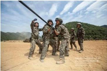 군대전용 셀카봉