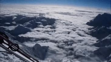에베레스트에서 바라본 풍경