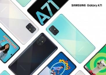 삼성전자, 북미시장 겨냥 중급 5G폰 '갤럭시 A71 5G' 2종 개발 중