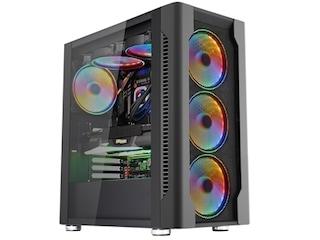 마이크로닉스, 140mm 레인보우 RGB 쿨링팬 6개 장착한 '마스터 Z5' 출시