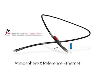 [리뷰]'윗물'로서 랜선의 음질 향상 효과에 대하여 Synergistic Research Atmosphere X Reference Ethernet Cable