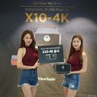 뷰소닉에서 내놓은 포터블 4K UHD 프로젝터, X10-4K 런칭 발표회