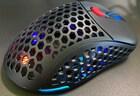 최대 78g 솜털처럼 가벼운 게이밍 마우스, 제닉스 TITAN G AIR 유선 마우스