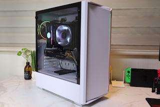 확장성 최고 은은한 RGB 마이크로닉스 Master Z2 강화유리 화이트 케이스 리뷰