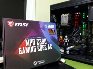MSI MPG Z390 게이밍 엣지 AC 사용기
