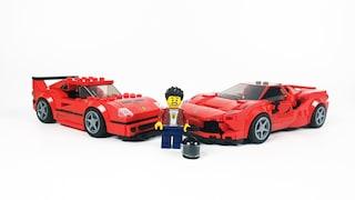[레고 76895] 페라리 F8 트리뷰토(Ferrari F8 Tributo)