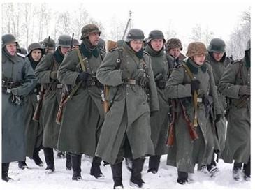 2차 세계대전 나치독일과 소련의 방한복