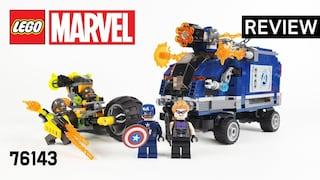 레고 슈퍼히어로즈 76143 어벤져스 트럭 급습(Superheroes Avengers Truck Takedown)  리뷰_Review_레고매니아_LEGO Mania