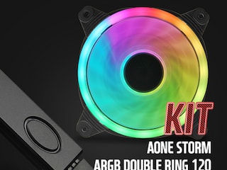 AONE 'STORM ARGB DOUBLE RING 120mm' 및 'ARGB 컨트롤러' KIT 출시