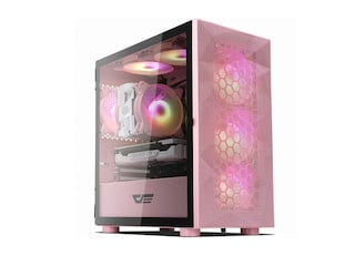 darkFlash DLM21 RGB MESH 강화유리 (핑크)