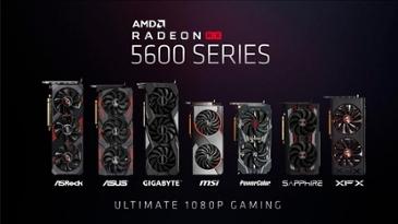 AMD, 풀HD 게이밍 최적 그래픽카드 '라데온 RX 5600 XT' 정식 출시