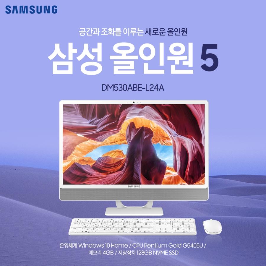NEW 삼성 올인원5 DM530ABE-L24A 749,000원 각종 사은품 증정 네이버 최저가!