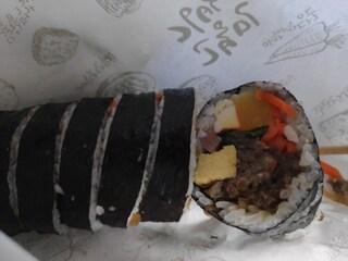 고봉민김밥의 소불고기김밥