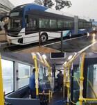 전기굴절버스, 전국 최초로 23일부터 세종시에서 운영