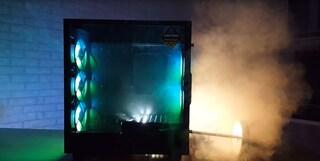 공기 배출실험 - 케이스 다크플레쉬 DLA22 사용기