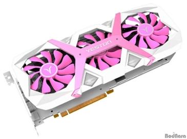 희귀한 핑크색, Yestons 라데온 RX 5600 XT Game Master OC