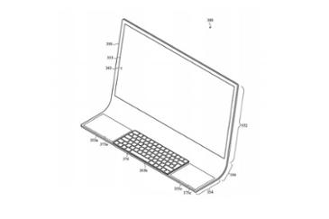 애플 새로운 형태의 아이맥 특허 출원