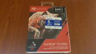 Seagate 아이언울프 110 240GB SSD를 테스트할 예정 입니다