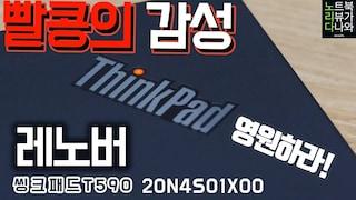 씽크패드 사용하면 여친생김 (feat.공대감성)!! / 노트북 리뷰 레노버 씽크패드 T590 20N4S01X00 (SSD 512GB) [노리다]