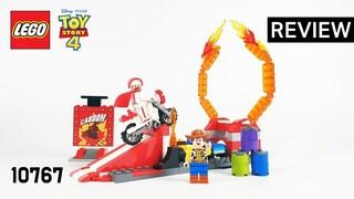 레고 토이스토리4 10767 카붐 공작의 묘기(Toy Story4 Duke Caboom's Stunt Show)  리뷰_Review_레고매니아_LEGO Mania