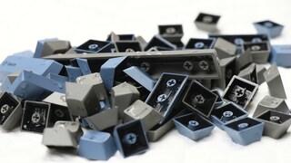 [ASMR] computer keyboard cleaning / 컴퓨터 키보드 청소