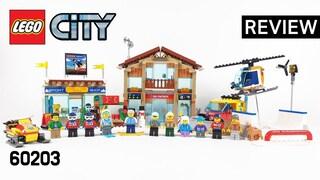 레고 시티 60203 스키 리조트(LEGO City Ski Resort)  리뷰_Review_레고매니아_LEGO Mania