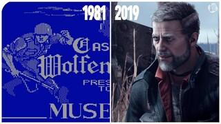 울펜슈타인 변천사 (19812019) Evolution of Wolfenstein