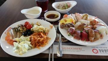 [먹거리 소개# 254] 쿠우쿠우에서 즐긴 점심