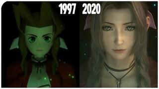 23년 그래픽의 변화  파이널 판타지 7 원작 vs 리메이크 비교