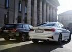 BMW, 330e PHEV 세단. 투어링 유럽 출시