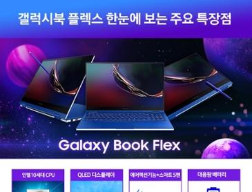 [오늘 하루/ 232만원대] 삼성 갤럭시북 플렉스 슈퍼딜 특가진행
