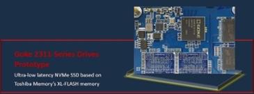 Goke, Toshiba XL 플래시 기반 NVMe SSD 공개 : 초저지연(Ultra-Low Latency)