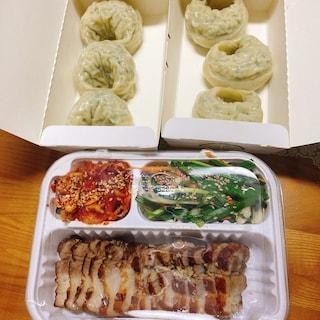 만두 보쌈