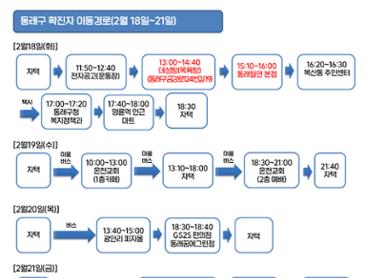 부산 코로나 확진자 2명 동선 (업뎃)
