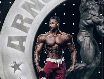 세계 남자 피트니스 대회 1위의 몸