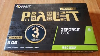 PALIT 지포스 GTX 1660 SUPER GAMINGPRO OC D6 6GB 사용기