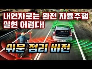 내연 자동차로는 자율 주행 실현 어렵다! 이해하기 쉬운 정리 버전