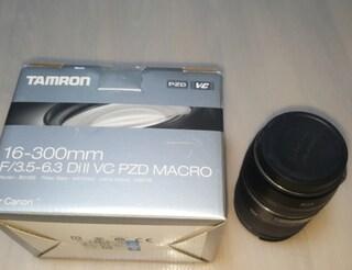 탐론 16-300mm F3.5-6.3 Di II VC PZD MACRO