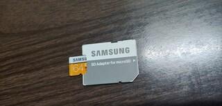삼성전자 micro SDXC CLASS10 UHS-I U3 EVO 100MB/s (64GB+어댑터)
