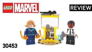 레고 슈퍼히어로즈 30453 캡틴 마블과 닉 퓨리(Captain Marvel and Nick Fury)  리뷰_Review_레고매니아_LEGO Mania