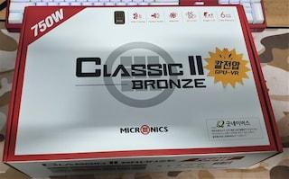 마이크로닉스 Classic II 750W 80PLUS Bronze 230V EU HDB