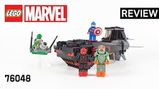 레고 슈퍼히어로즈 76048 아이언 스컬 잠수함 공격(Iron Skull Sub Attack)  장기프로젝트(#06)_리뷰_Review_레고매니아_LEGO Mania